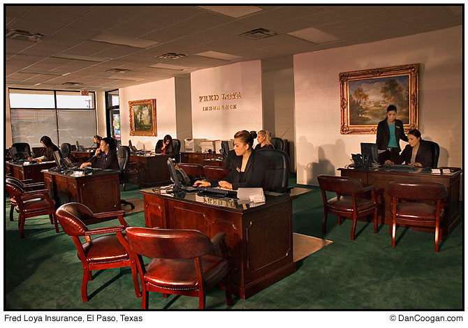 Fred Loya Insurance Office El Paso Tx Dan Coogan Photographer