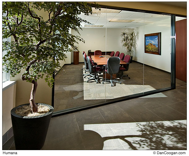 Humana Conference room, office building, Phoenix