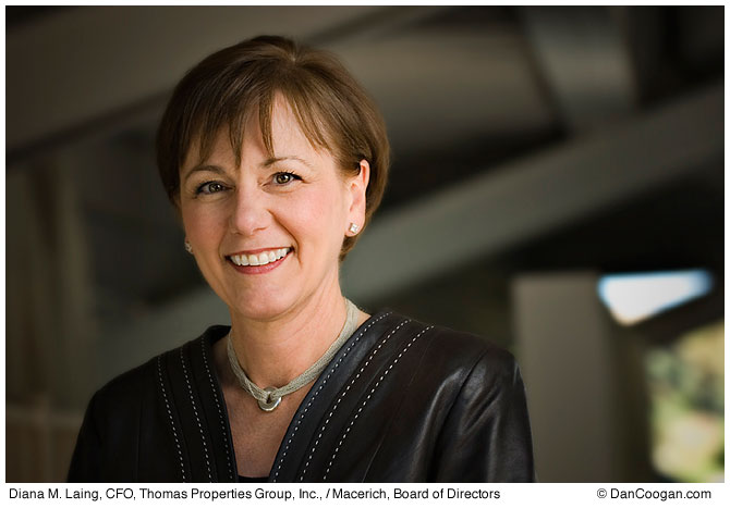 Diana M. Laing, CFO, Thomas Properties Group Inc., Macerich, Board of Directors