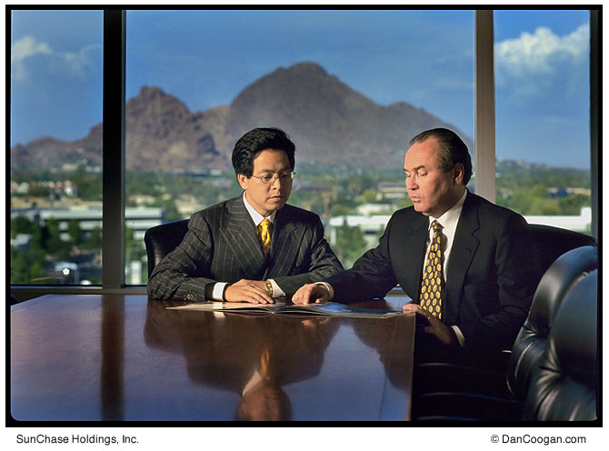 Chee S. Yaw and William A. Pope, SunChase Holdings Inc.
